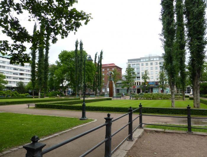 Парк Сибелиуса в Котке