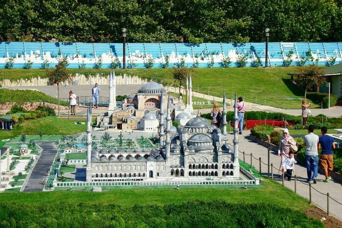 Парк-музей миниатюр в Стамбуле