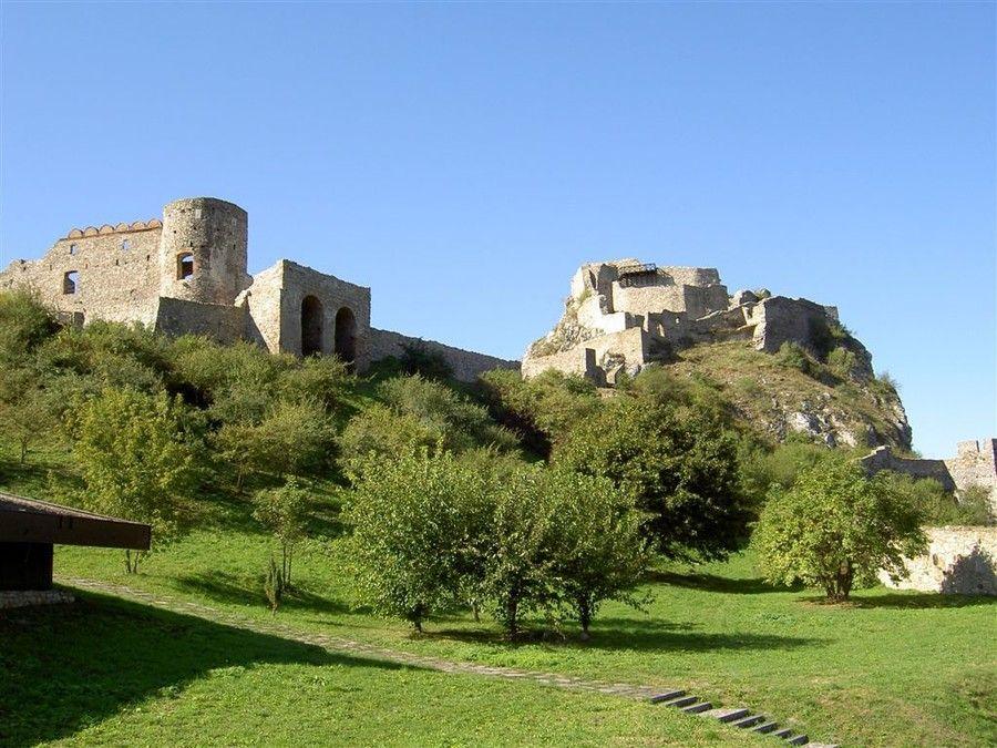 Крепость Девин близ Братиславы