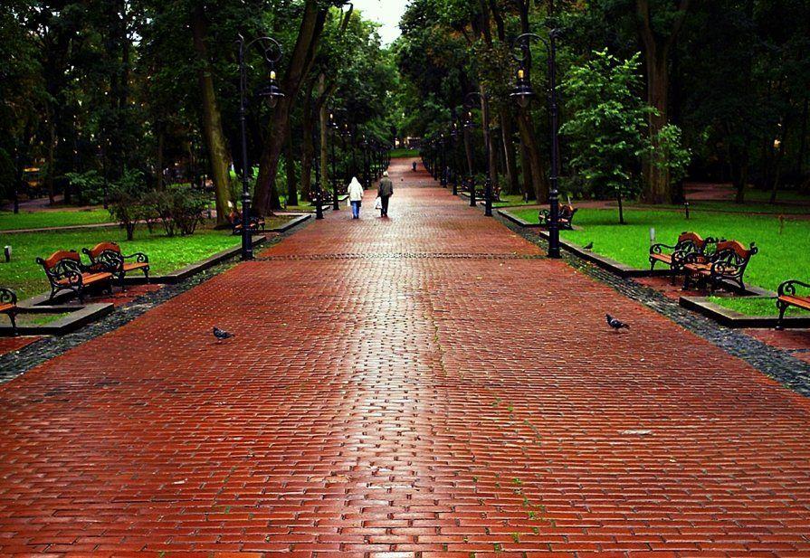 Парк имени И. Франка во Львове