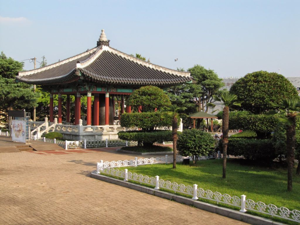 Парк Ёндусан в Пусане