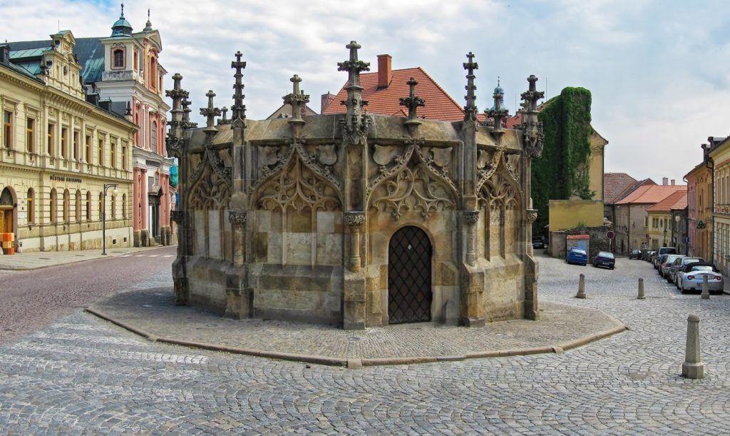 Каменный фонтан на Рейсковой площади, Кутна-Гора