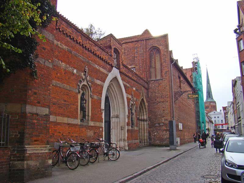 Монастырь Святой Анны в городе Любек