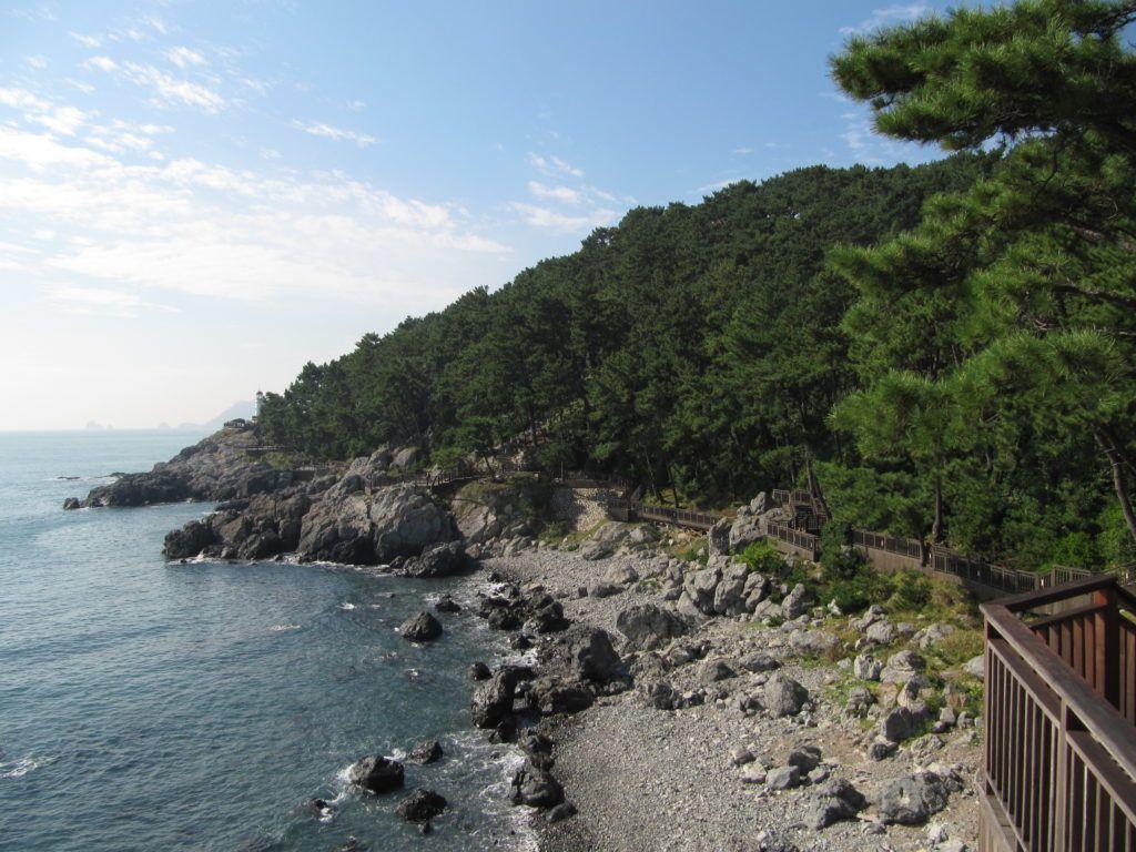 Остров Донбэк в Южной Корее