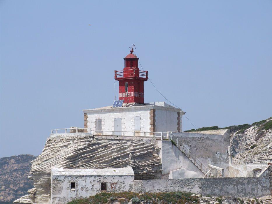 Красный маяк, Корсика, Бонифачо