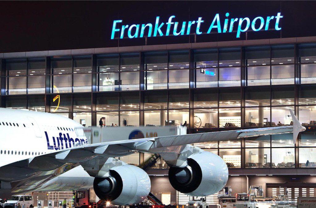 Аэропорт в Франкфурте