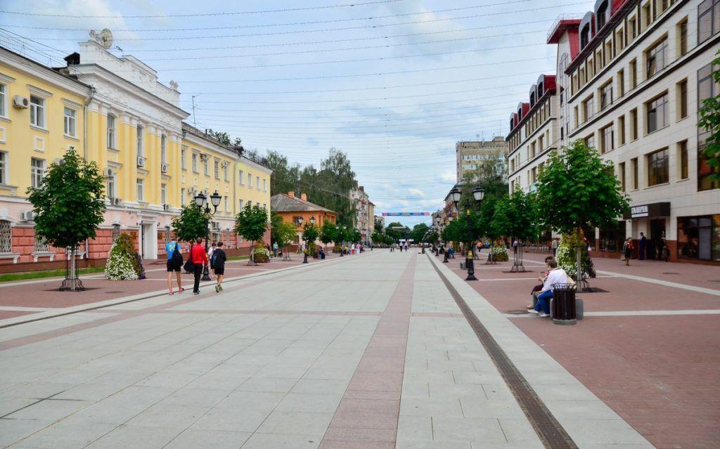 Бульвар Гагарина в Брянске