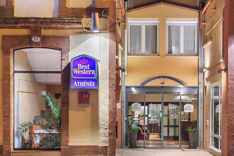 Best Western Hotel Athenee в Тулузе