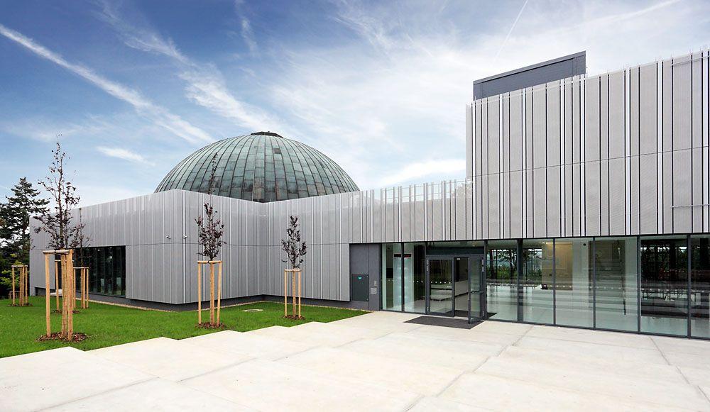 Планетарий и обсерватория Коперника в городе Брно