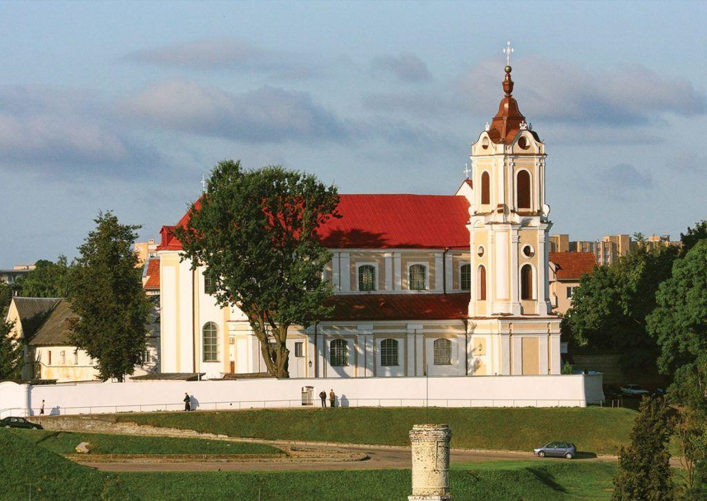 Костел Девы Марии Ангельской в Гродно