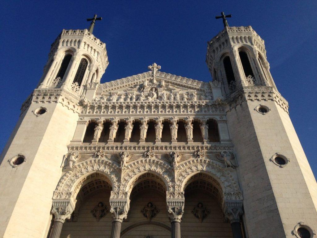 Базилика Нотр-Дам-де-Фурвьер в Лионе, Франция