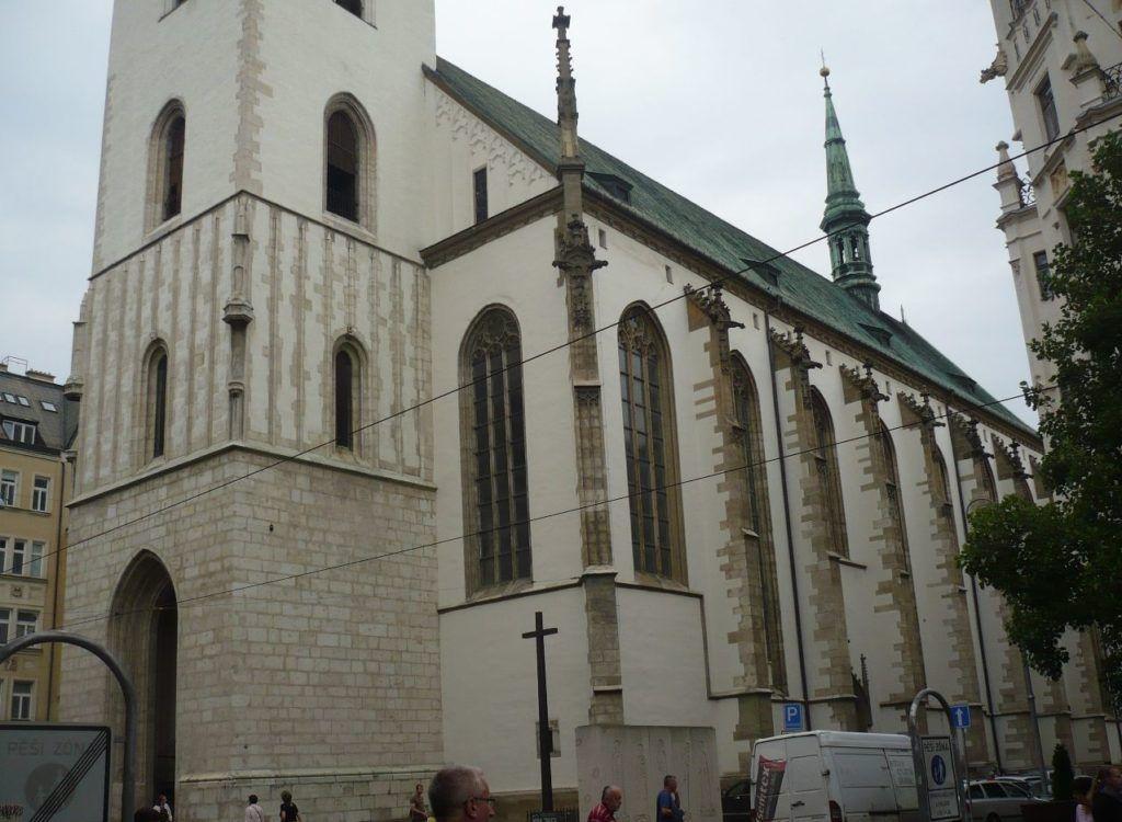 Костел Св. Иакова (Якова), Брно