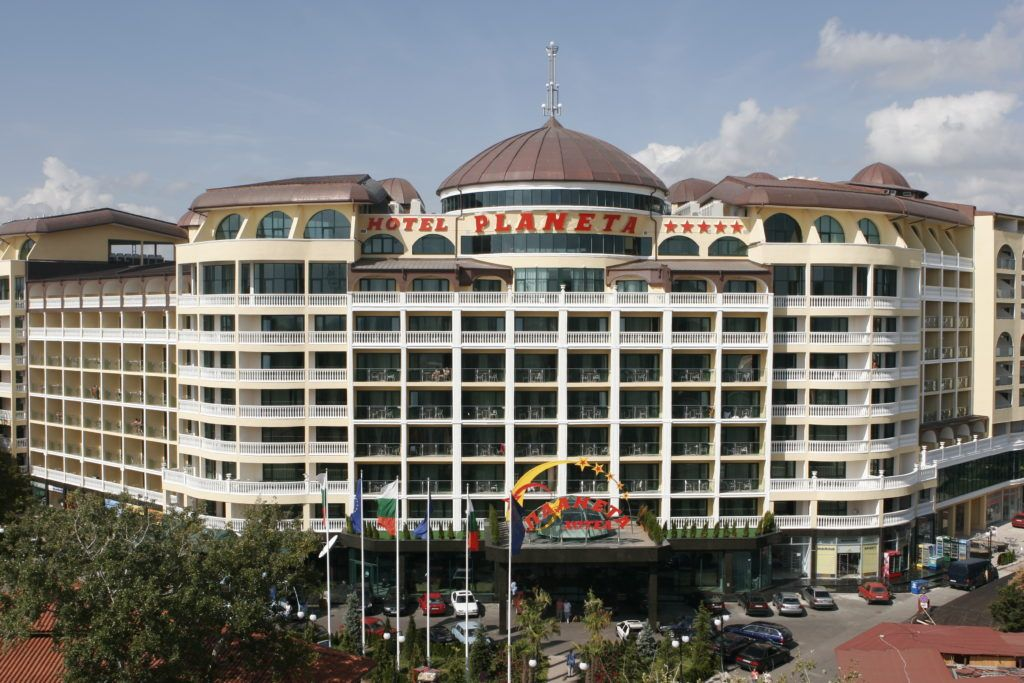 Отель Палнета на курорте Солнечный берег