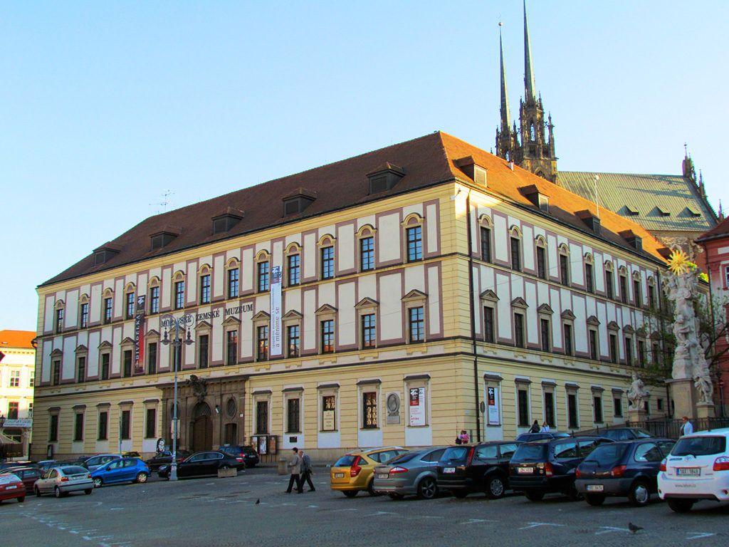 Моравский музей в городе Брно