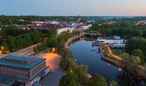 Город Тарту в Эстонии