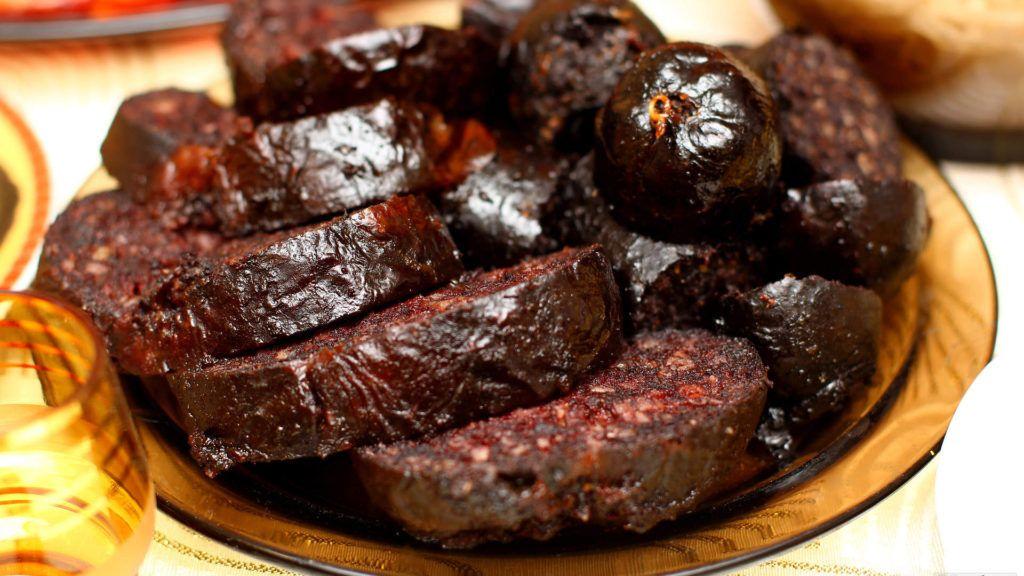 Кровяная колбаса в эстонской кухне