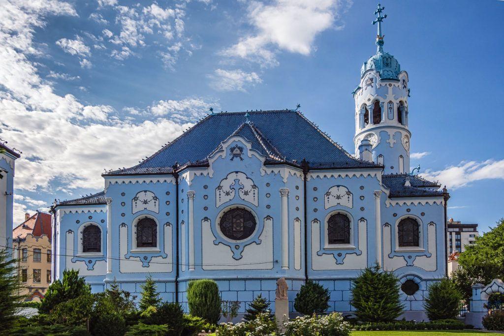 Храм Святой Елизаветы в Братиславе