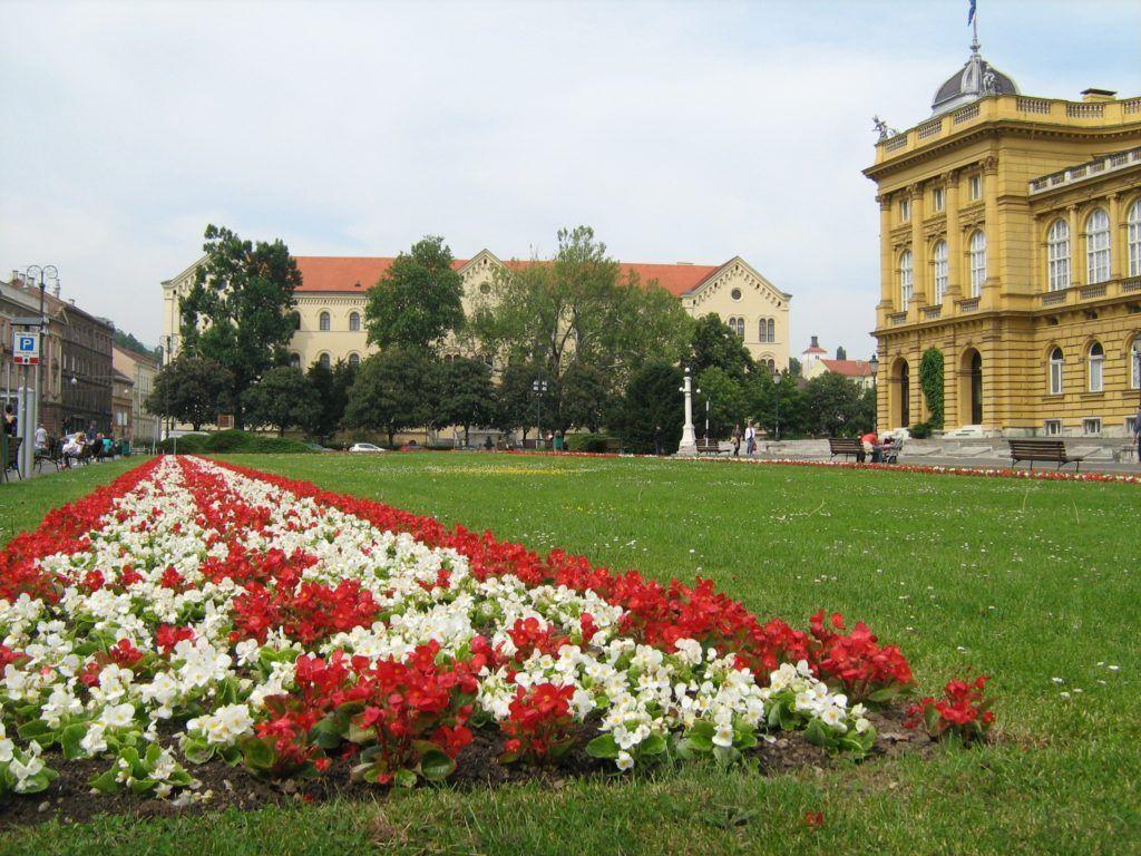 Площадь Маршала Тито в Загребе