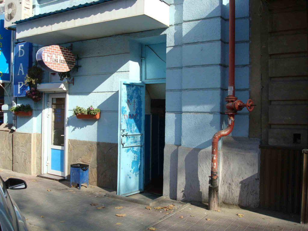 Туалет на пересечении Большой Садовой и Газетного переулка, Ростов-на-Дону