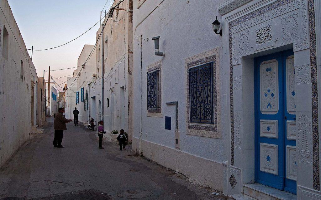 Улицы Старого города в Махдии, Тунис