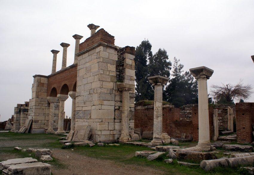 Базилика Святого Иоанна в Эфесе