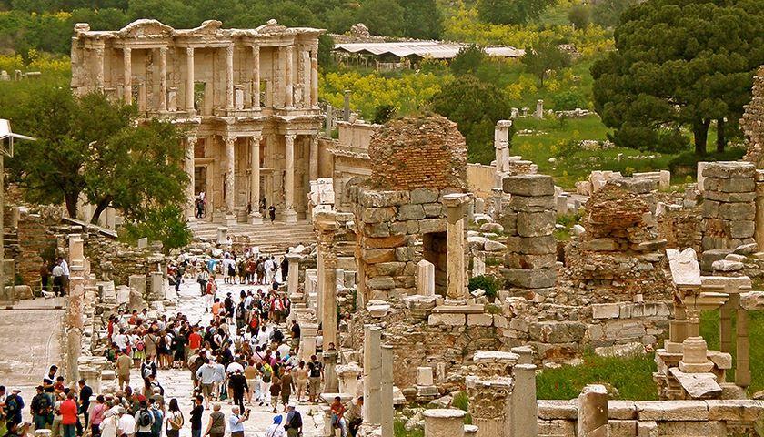 Древний Эфес – античная жемчужина Турции