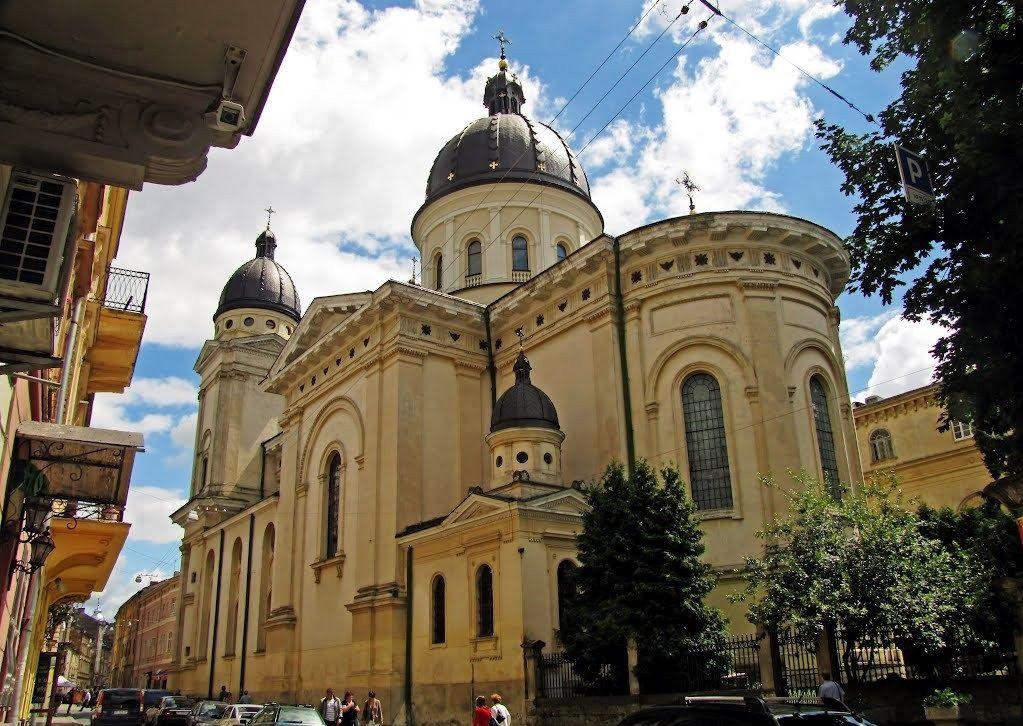 Церковь Преображения Господнего во Львове