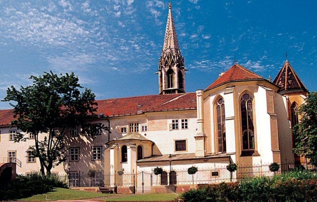 Францисканский католический храм в Братиславе