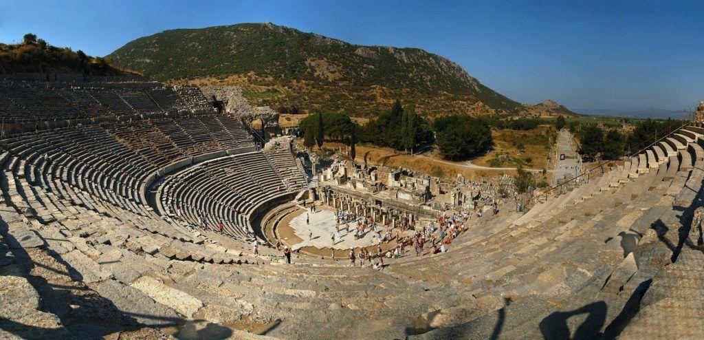 Большой древнегреческий театр Эфеса