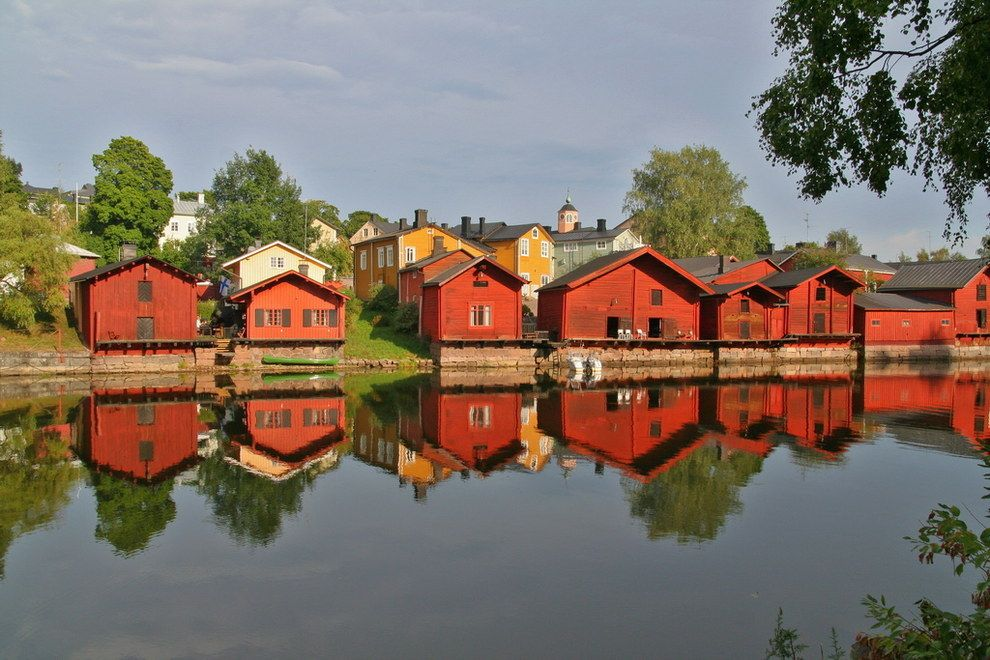 Соляные склады Порвоо, Финляндия