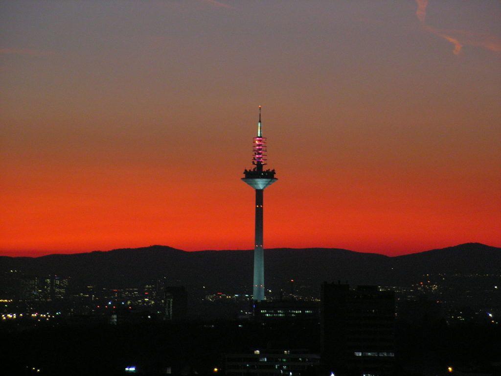 Телевизионная и радиовещательная башня Франкфурта-на-Майне