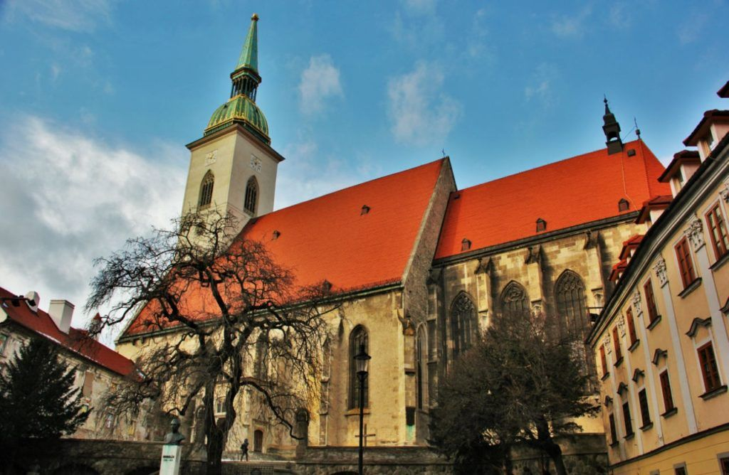 Собор Святого Мартина в Братиславе
