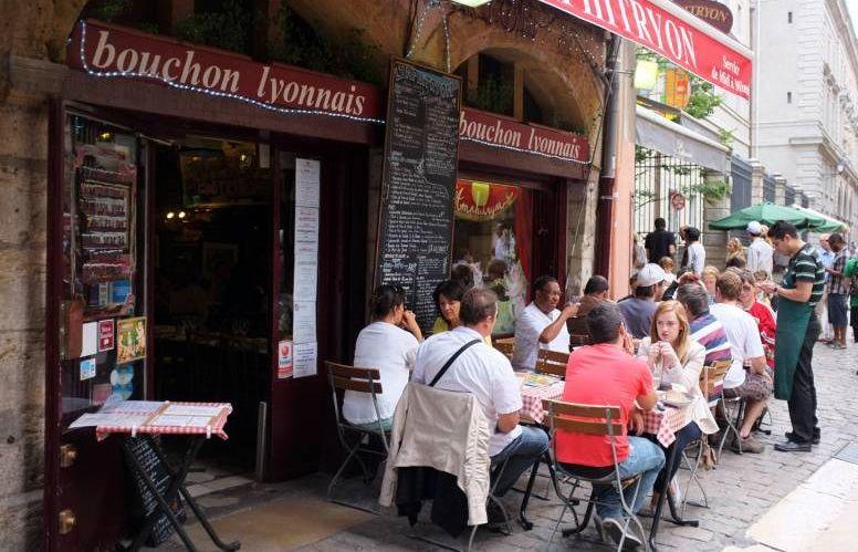 Бушон в городе Лион, Франция