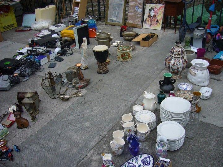 Блошиный рынок в Тулузе