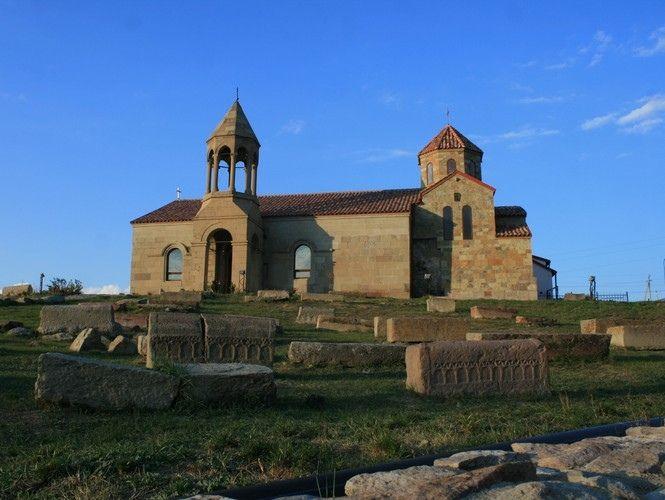 Католический монастырь в Ахалцихе