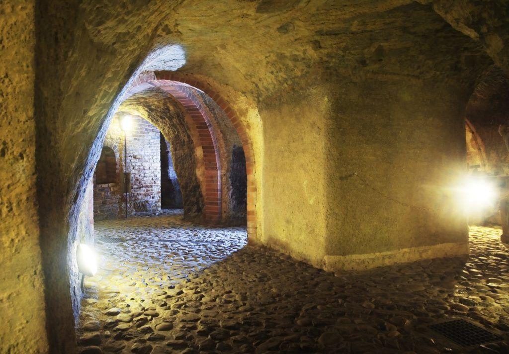 Подезмельный лабиринт, Пльзень, Чехия