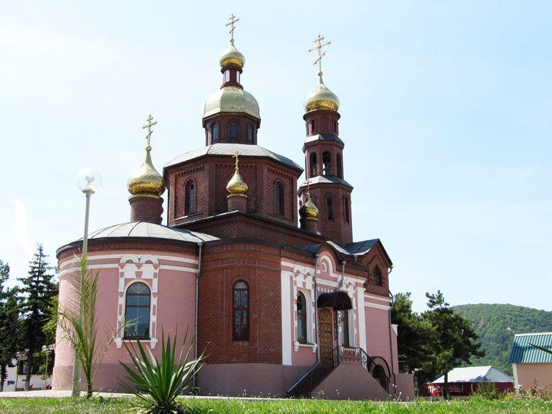 Свято-Никольский храм в Архипо-Осиповке