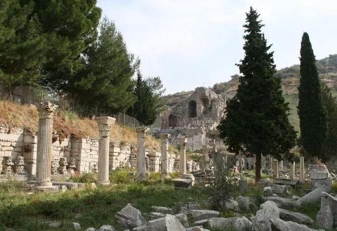 Нижняя агора, Эфес, Турция