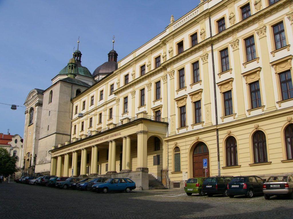 Университет Палацкого в городе Оломоуц