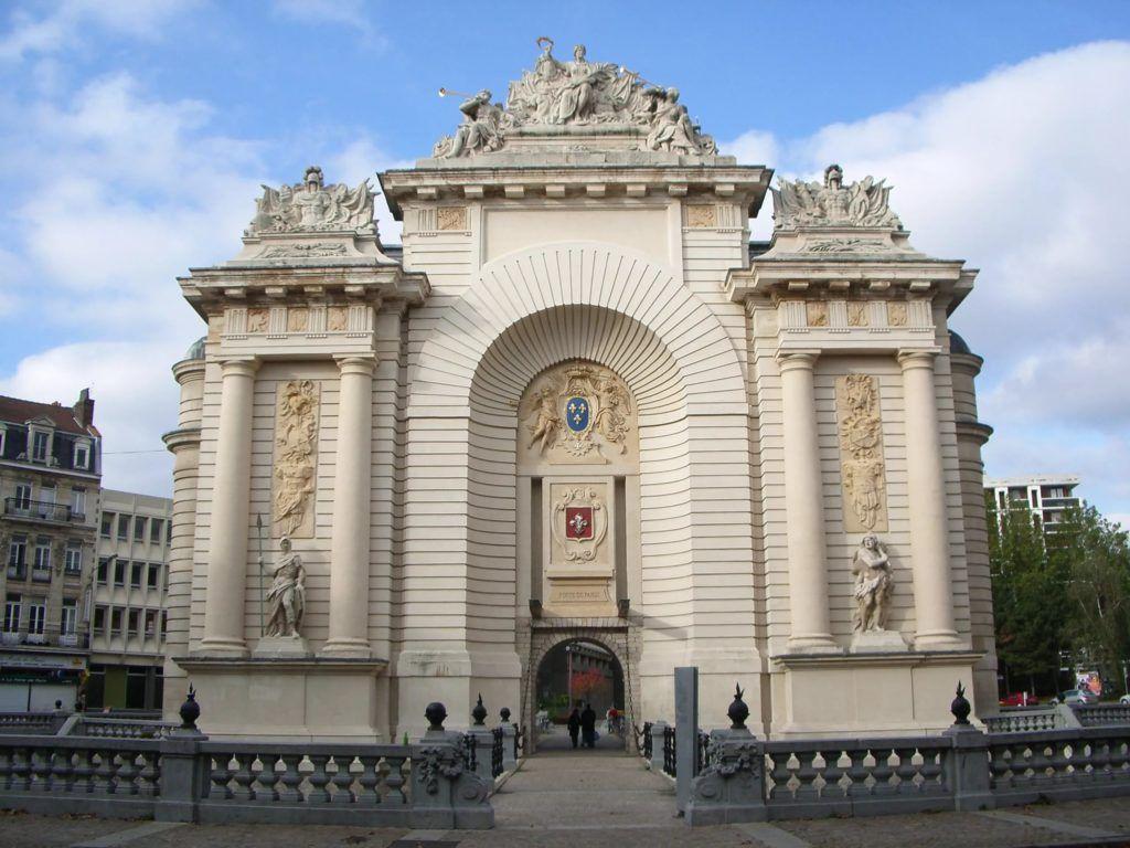 Триумфальная арка в Лилле