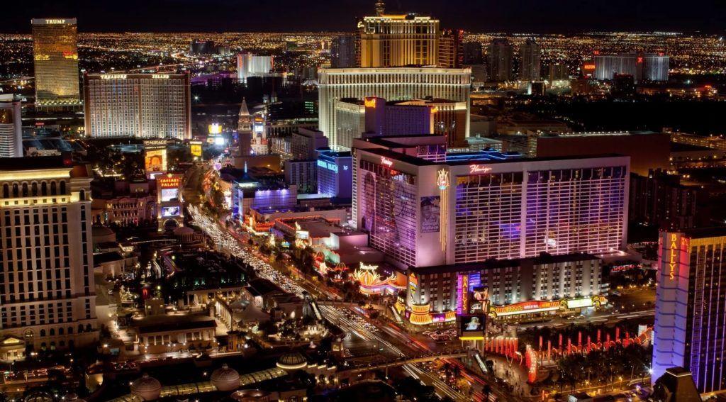 Улица Стрип в Лас-Вегасе