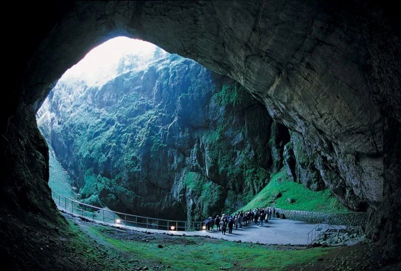 Пещера Мацоха,Моравский карст, Чехия