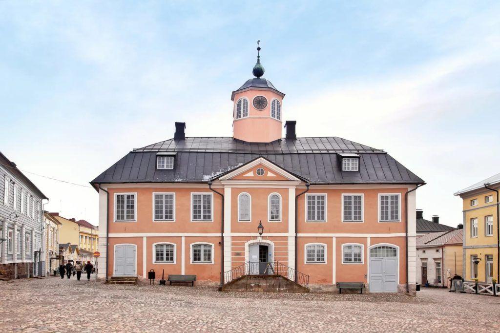 Городская ратуша города Порвоо, Финляндия
