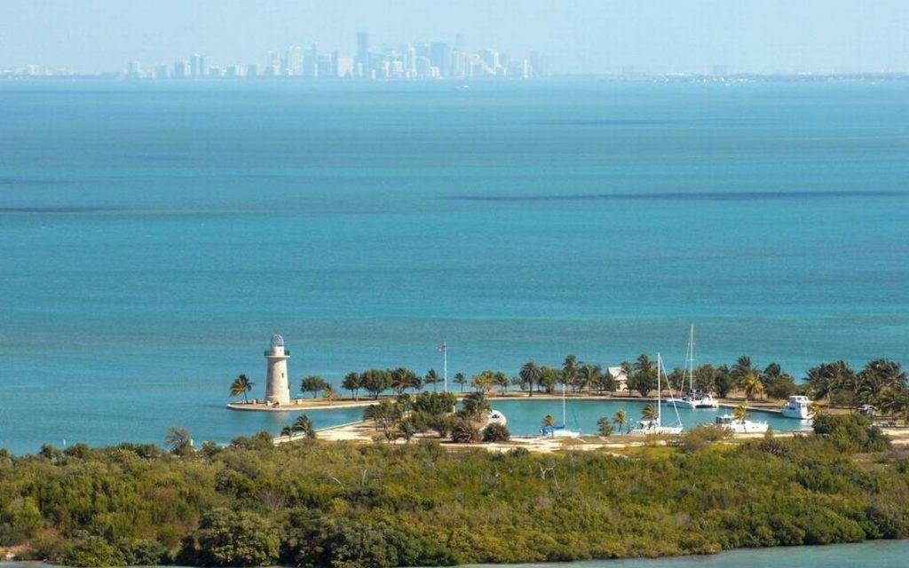 "Парк ""Бискейн"" близ Майами, Флорида"