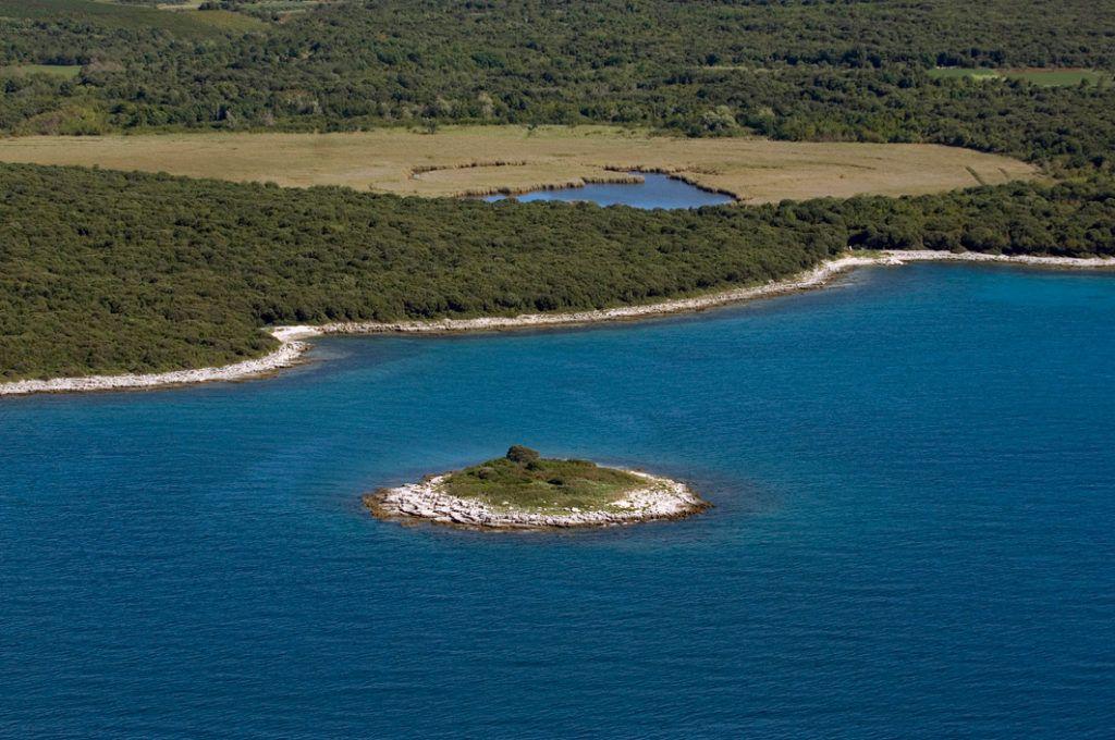 Залив Палуд (орнитологический заповедник близ Ровиня)