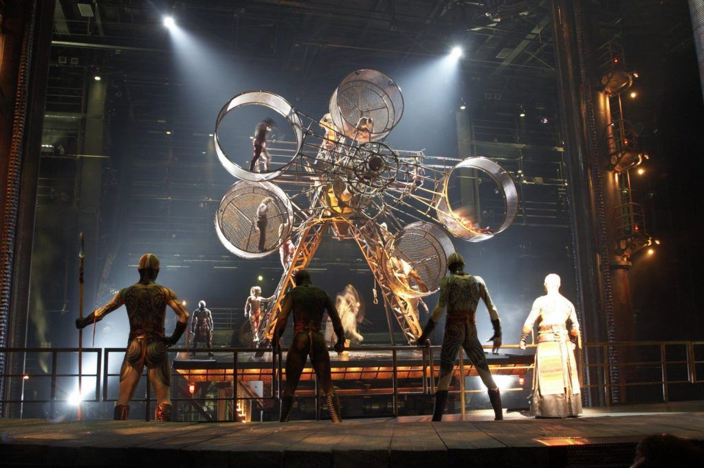Цирк Солнца в Лас-Вегасе
