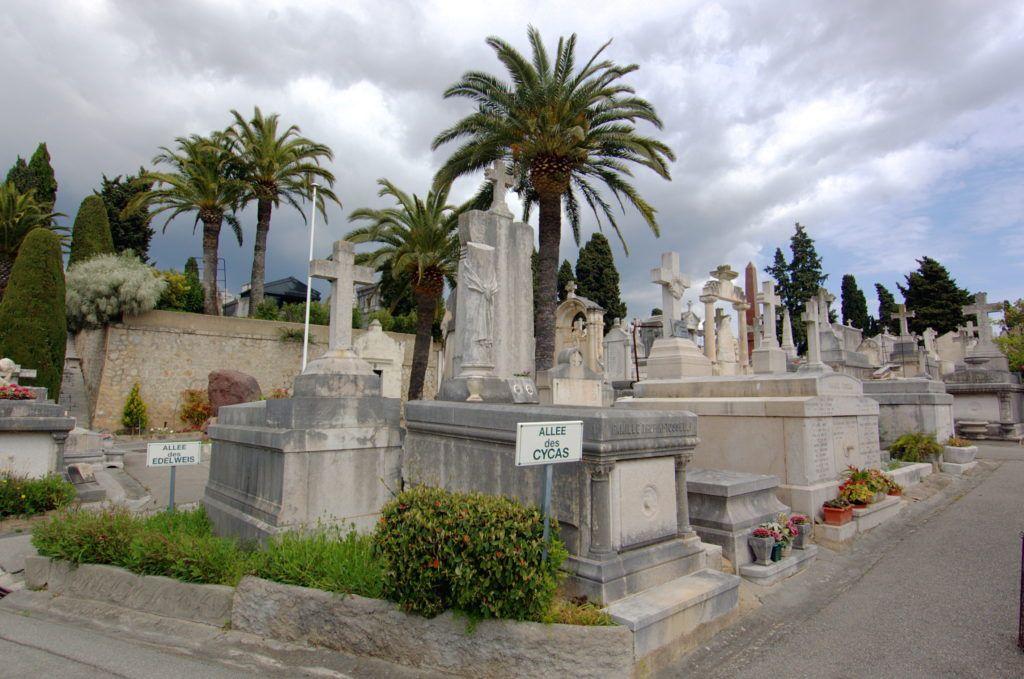 Кладбище Гран-Жас в Каннах