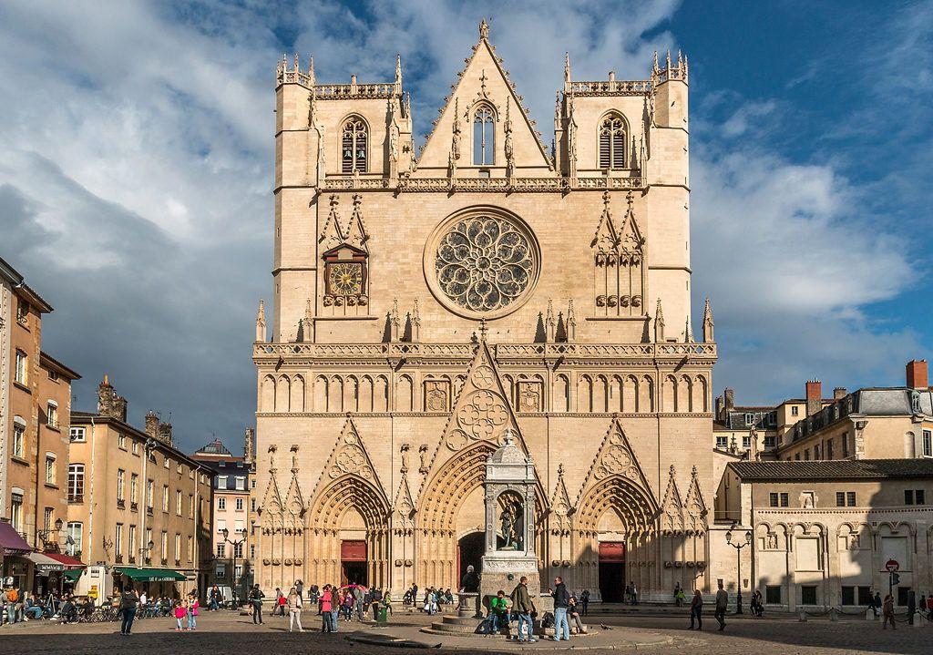 Кафедральный собор Иоанна Крестителя в Лионе