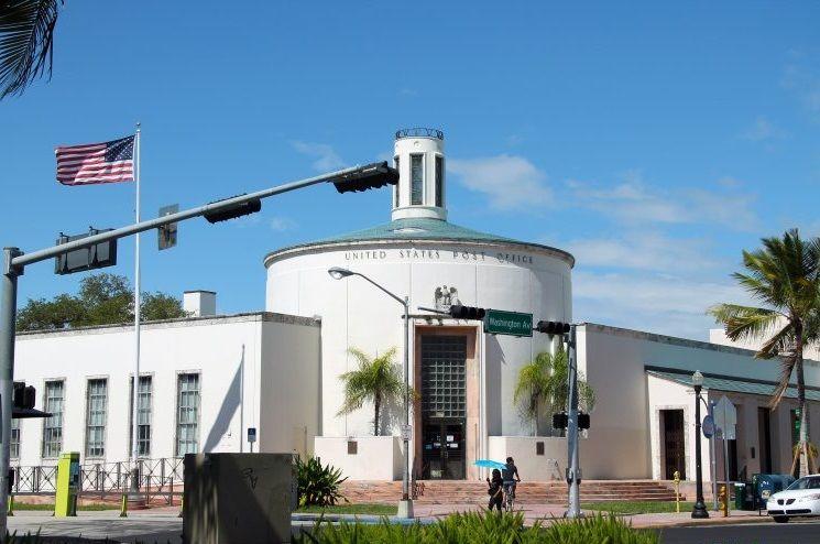 Здание почты в Майами