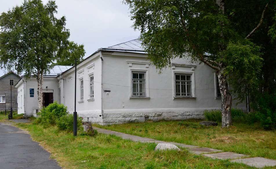 """Музей """"Поморье"""" в городе Кемь, Карелия"""